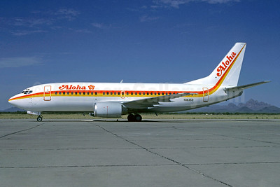 Aloha Airlines Boeing 737-3T0 N18359 (msn 23841) MZJ (Bob Shane - Christian Volpati Collection). Image: 939480.