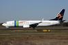 Aloha Airlines Boeing 737-8K2 PH-HZO (msn 34169) (Transavia colors) SMF (Mark Durbin). Image: 906105.