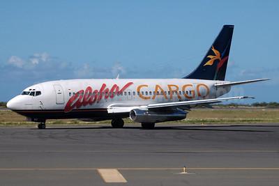 Aloha Cargo (Aloha Airlines) Boeing 737-2X6C N817AL (msn 23292) HNL (Jerrold Wu). Image: 913591.