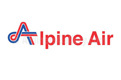 1. Alpine Air logo