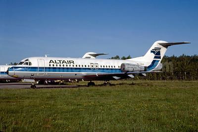 Altair Airlines Fokker F.28 Mk. 4000 N510 (msn 11167) UCA (Bruce Drum). Image: 103326.