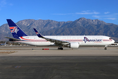 AmeriJet International Boeing 767-323 ER (F) N349CM (msn 26996) ONT (Michael B. Ing). Image: 952520.