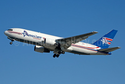 AmeriJet International Boeing 767-232 (F) N741AX (msn 22215) MIA (Jay Selman). Image: 403411.