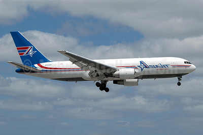 AmeriJet International Boeing 767-232 (F) N741AX (msn 22215) MIA (Nik French). Image: 904833.