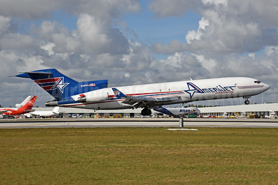The last AmeriJet Boeing 727