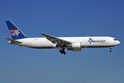 AmeriJet International Boeing 767-338 ER (F) N316CM (msn 24146) MIA (Rob Finlayson). Image: 24146.