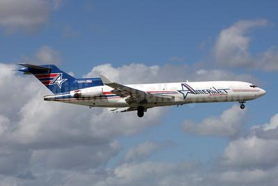 AmeriJet International Boeing 727-233 (F) WL N495AJ (msn 20937) MIA (Jay Selman). Image: 402192.