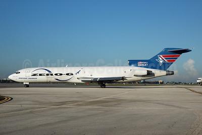 AmeriJet International Boeing 727-227 (F) N794AJ (msn 21243) (Northrop Grumman Zero-G) MIA (Bruce Drum). Image: 100503.