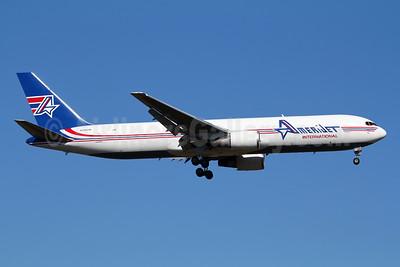AmeriJet International Boeing 767-323 ER (F) N396CM (msn 25195) FRA (Marcelo F. De Biasi). Image: 950091.