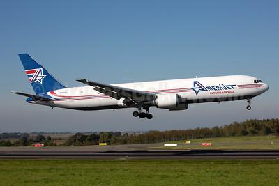 AmeriJet International Boeing 767-323 ER (F) N396CM (msn 25195) LGG (Rainer Bexten). Image: 955515.