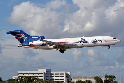 AmeriJet International Boeing 727-2F9 (F) WL N199AJ (msn 21426) MIA (Jay Selman). Image: 402713.