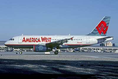 America West Airlines Airbus A319-132 N804AW (msn 1043) PHX (Michel Saint-Felix). Image: 949686.