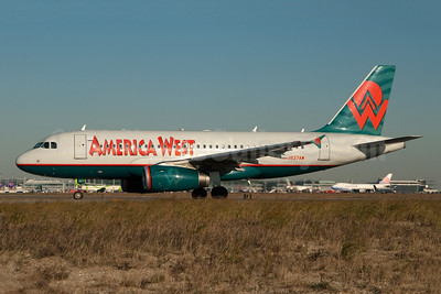 America West Airlines Airbus A319-132 N837AW (msn 2595) JFK (Fred Freketic). Image: 949691.