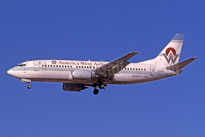 America West Airlines Boeing 737-3G7 N311AW (msn 24712) PHX (Bruce Drum). Image: 101087.