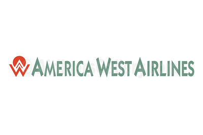 1. America West Airlines logo