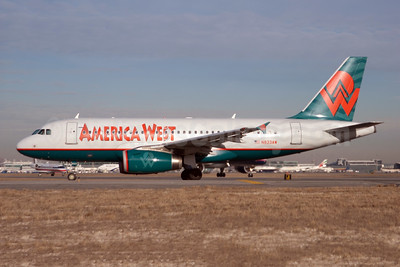 America West Airlines Airbus A319-132 N833AW (msn 1844) JFK (Fred Freketic). Image: 949690.