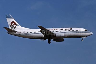 America West Airlines Boeing 737-3Q8 N153AW (msn 23406) PHX (Jay Selman). Image: 400568.
