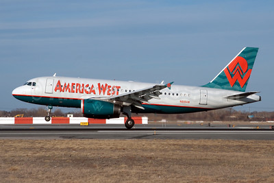 America West Airlines Airbus A319-132 N818AW (msn 1375) JFK (Fred Freketic). Image: 949688.