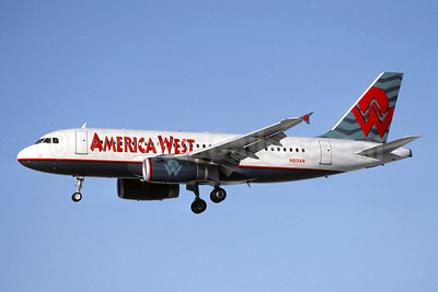 America West Airlines Airbus A319-132 N819AW (msn 1395) (Christian Volpati Collection). Image: 949689.
