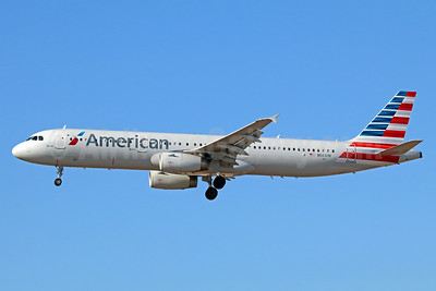 American Airlines Airbus A321-231 N561UW (msn 5317) LAX (Michael B. Ing). Image: 938817.