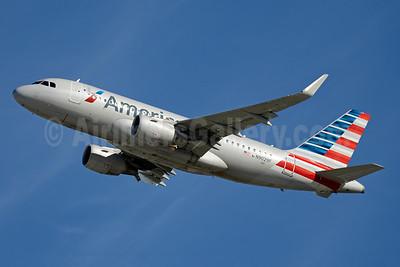 American Airlines Airbus A319-115 WL N9029F (msn 6491) MIA (Jay Selman). Image: 403464.