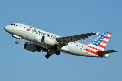 American Airlines Airbus A319-112 N740UW (msn 1265) CLT (Jay Selman). Image: 403242.
