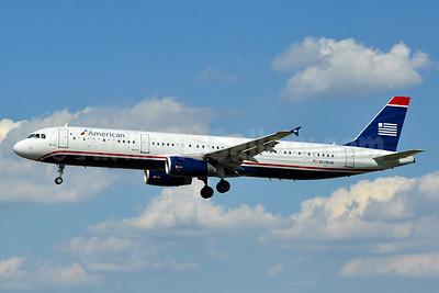 American's US Airways heritage Airbus A321