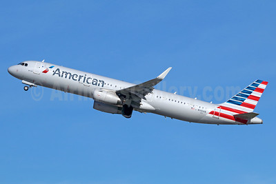 American Airlines Airbus A321-231 WL N140AN (msn 6667) LAX (Michael B. Ing). Image: 936842.