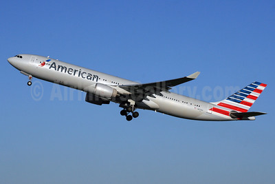 American Airlines Airbus A330-323 N273AY (msn 337) LHR (SPA). Image: 926231.