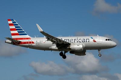 American Airlines Airbus A319-115 WL N9023N (msn 6349) MIA (Jay Selman). Image: 403463.