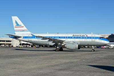 American Airlines Airbus A319-112 N744P (msn 1287) (Piedmont 1974 retrojet) CLT (Jay Selman). Image: 402598.