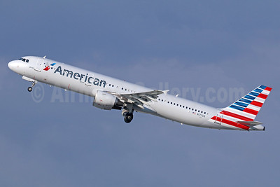 American Airlines Airbus A321-211 N177US (msn 1517) LAX (Michael B. Ing). Image: 936841.
