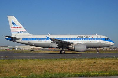 American Airlines Airbus A319-112 N744P (msn 1287) (Piedmont 1974 retrojet) YYZ (TMK Photography). Image: 933940.