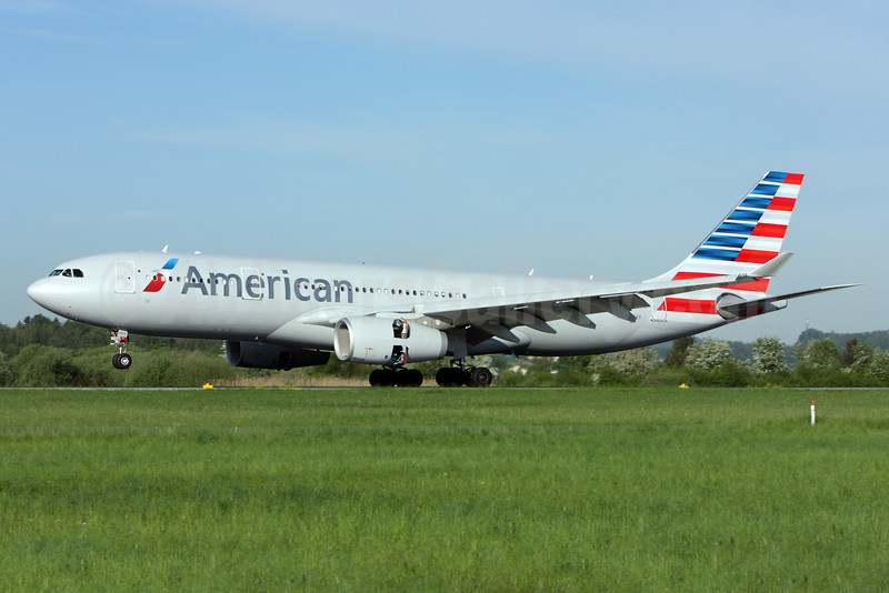 American Airlines Airbus A330-243 N286AY (msn 1415) ZRH (Andi Hiltl). Image: 927524.