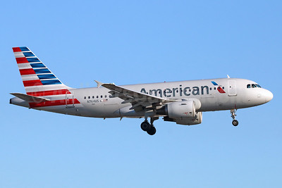 American Airlines Airbus A319-112 N764US (msn 1369) LAX (Michael B. Ing). Image: 938468.