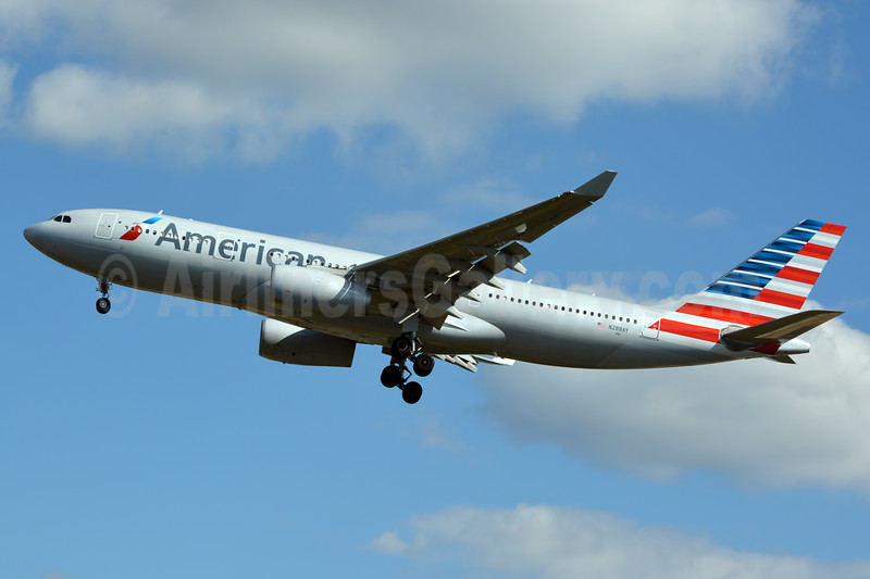First Airbus A330-200 in American colors
