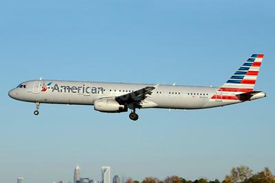 American Airlines Airbus A321-231 N918US (msn 6443) CLT (Jay Selman). Image: 403287.