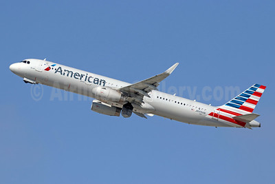 American Airlines Airbus A321-231 WL N909AM (msn 7756) LAX (Michael B. Ing). Image: 944596.