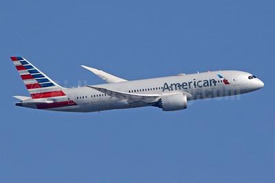 American Airlines Boeing 787-8 Dreamliner N815AA (msn 40633) LHR (SPA). Image: 947897.