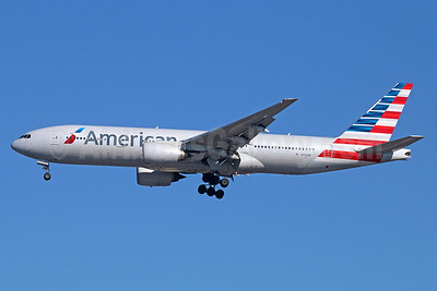 American Airlines Boeing 777-223 ER N776AN (msn 29582) LAX (Michael B. Ing). Image: 927946.