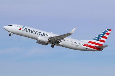 American Airlines Boeing 737-800 WL N338PK (msn 31268) LAX (Michael B. Ing). Image: 941262.
