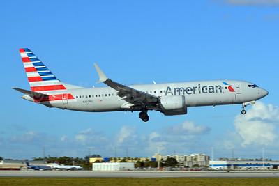 American Airlines Boeing 737-8 MAX 8 N303RG (msn 44448) MIA (Bruce Drum). Image: 104955.