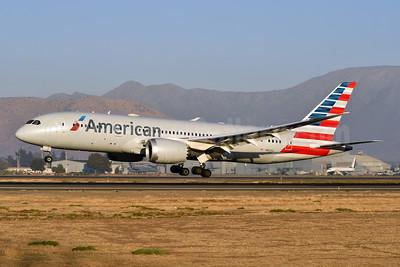American Airlines Boeing 787-8 Dreamliner N803AL (msn 40621) SCL (Ken Petersen). Image: 947890.