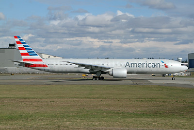 American Airlines Boeing 777-323 ER N732AN (msn 31549) PAE (Nick Dean). Image: 941261.