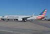 US Airways operating a Boeing 757 in American colors