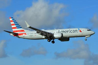American Airlines Boeing 737-8 MAX 8 N308RD (msn 44446) MIA (Bruce Drum). Image: 104584.