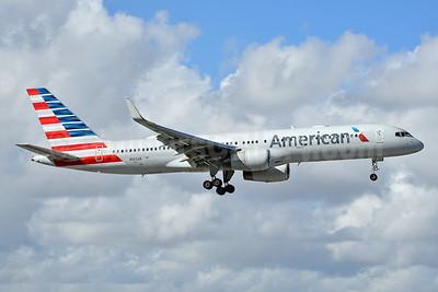 American Airlines Boeing 757-223 WL N189AN (msn 32383) MIA (Bruce Drum). Image: 104626.