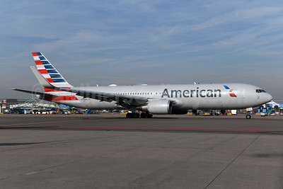 American Airlines Boeing 767-323 ER WL N346AN (msn 33085) AMS (Ton Jochems). Image: 949501.