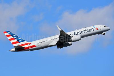 American Airlines Boeing 757-223 WL N190AA (msn 32384) MIA (Bruce Drum). Image: 104366.