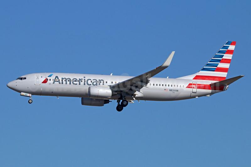 American Airlines Boeing 737-823 WL N826NN (msn 31089) LAX (Michael B. Ing). Image: 924834.